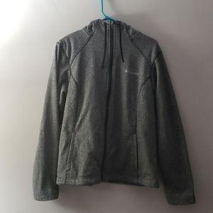 Columbia zip-up hoodie